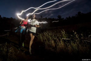 Run Zone Valentines Lazer light trail run