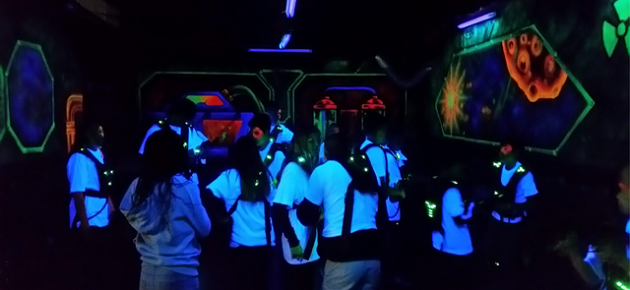 Laser Battle Zone