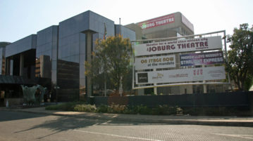 Joburg Theatre art corner sunday