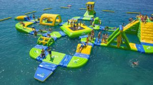 Floating Obstacle Course
