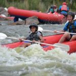 Rafting at Hadeda Creek