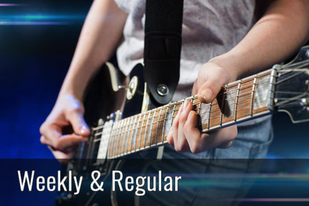 Bands & Nightlife Weekly and Regular