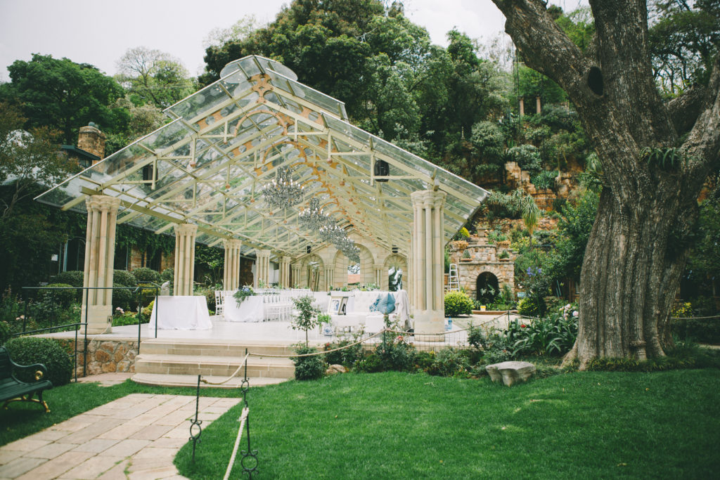 Outdoor Wedding Venues: Garden & Outdoor Wedding Venues Near Gauteng