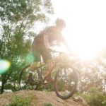 Biking at the PwC Bike Park
