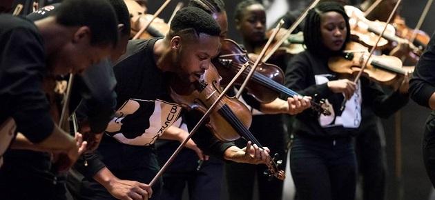 Buskaid Soweto String Ensemble in Concert