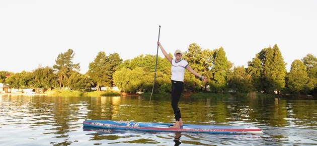 Stand Up Paddleboarding with SUPFitness